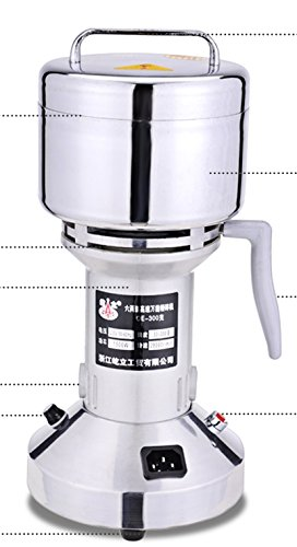 100G Stainless Steel High-Speed Grinder Mill Family Medicial Mill Herb Grinder,Pulverizer 110V