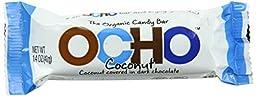 OCHO Organic Candy Bar, Coconut, 1.4 Ounce (Pack of 18)