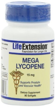 Life Extension Mega Lycopene Extract 15Mg Softgels, 90-Count