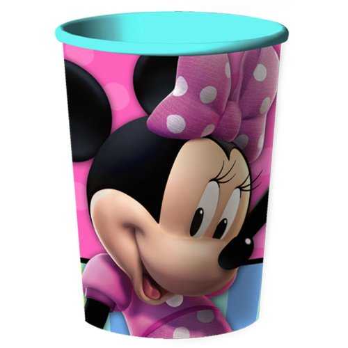 Hallmark - Disney Minnie Mouse Bow-tique 16 oz. Plastic Cup