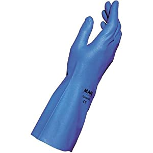 "MAPA Optinit 472 Nitrile Glove, Chemical Resistant, 0.008"" Thickness"