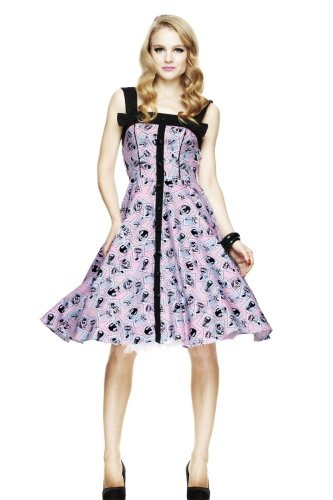 Hell Bunny Joy Joy Dress S - Size 10