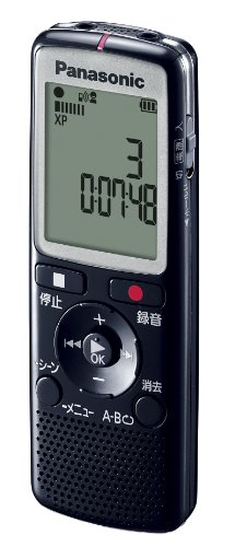 Panasonic ICレコーダー 2GB ブラック RR-QR210-K
