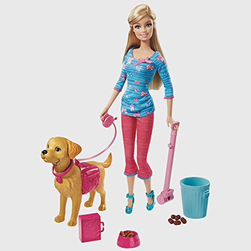 Barbie Potty Training Taffy Set By Mattel front-170402