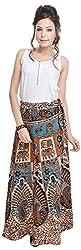 Soundarya Women's Cotton Wrap Skirt (6055, Long)