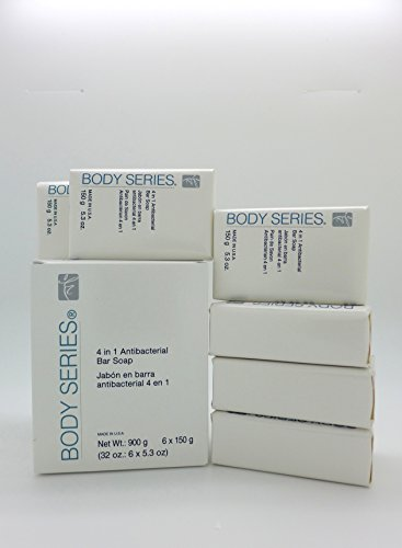 BODY SERIES 4-in-1 Antibacterial Bar Soap 6 / 5.3-oz. bars (Body Series Amway compare prices)