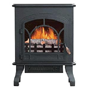 world marketing america bristol electric fireplace blower thermostat with black. Black Bedroom Furniture Sets. Home Design Ideas
