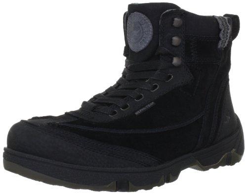 Allrounder by Mephisto BUXTON P2002564, Sneaker uomo, Nero (Schwarz (BLACK PULL UP 1)), 41.5