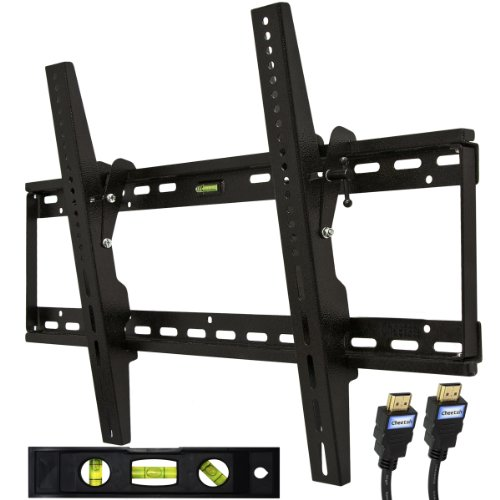 "Cheetah Mounts APTMM2B Flat Screen TV Wall Mount Bracket, uses Universal Tilt Mount 32-55"" - Plasma, LED, LCD TV Wall Mounts Mounting Brackets"