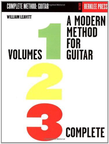 A Modern Method for Guitar - Volumes 1, 2, 3 Complete (Berklee Methods)