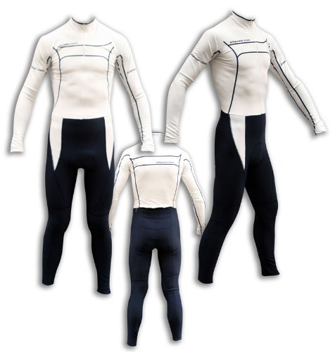 "Buy Low Price JOLLYWEAR Cycling Thermal Skinsuit – long sleeves and tights (""GENTLEMEN"" collection) (B002VW9L0A)"