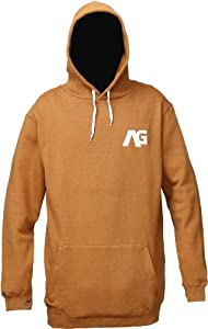 Analog Crux Hoodie 2014, Leather Brown, M
