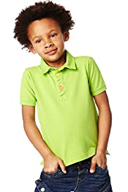 Pure Cotton Short Sleeve Piqu Polo Shirt