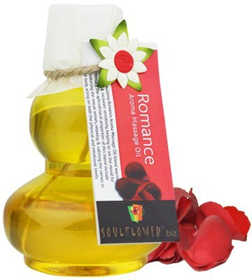 Soulflower Romance Aroma Massage Oil, 90ml low price