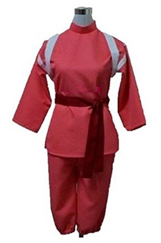 [Anime Spirited Away Costume Cosplay (S ( Japanese size M ), Chihiro Ogino)] (Novel Halloween Costume Ideas)