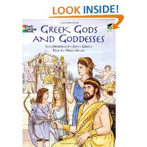 Greek Gods and GoddessesDover Classic Stories Coloring Book
