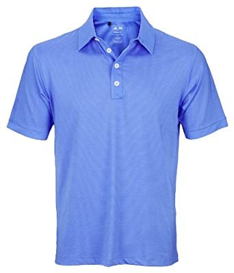 Buy Adidas Taylormade Puremotion Microstripe Athletic Mens Polo Shirt by adidas
