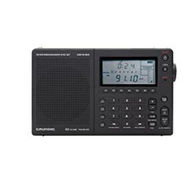 Grundig Globe Traveler G3 AM/FM/Shortwave Radio with Aircraft Band, Single-Side Band, Radio Data System and Synchronous Detector