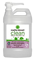 Martha Stewart Clean Laundry Detergent, 128 Ounces, one Full Gallon ( Pack of 4 )