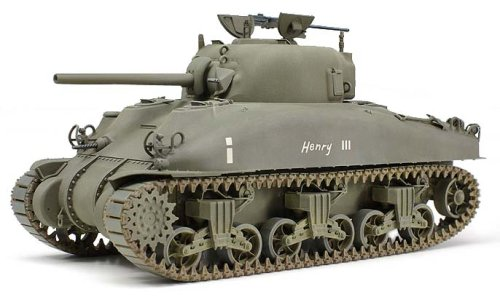 1/35 アメリカ中戦車 M4A1シャーマン(中期型)