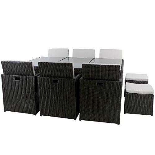 essgruppe aus polyrattan was. Black Bedroom Furniture Sets. Home Design Ideas