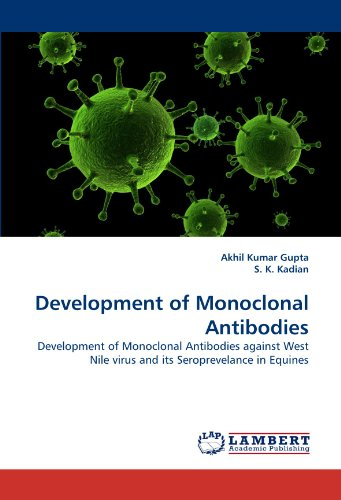 Development of Monoclonal Antibodies: Development of Monoclonal Antibodies against West Nile virus and its Seroprevelance in Equines