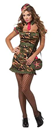California Costumes Eye Candy Private First Class, Multi, Small Costume