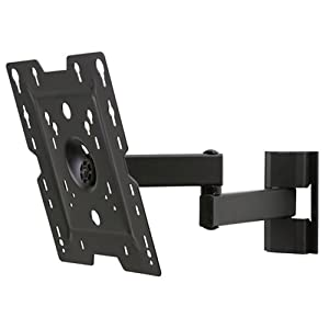 tv lcd led wall bracket swing pivot double. Black Bedroom Furniture Sets. Home Design Ideas