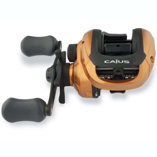Shimano Caius Baitcast Reel with 3 Ball Bearings 6.5:1 10-Pounds/155 Yards (Right Hand)