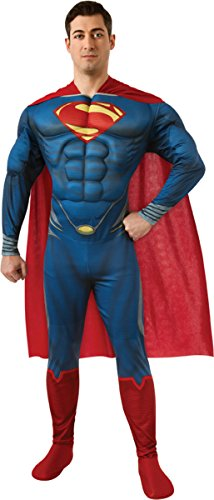 Men's Costume: Superman Muscle- Medium