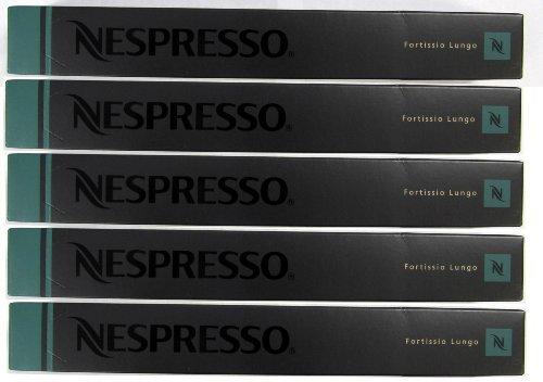 Nespresso OriginalLine: Fortissio Lungo, 50 Count (Lungo Nespresso compare prices)