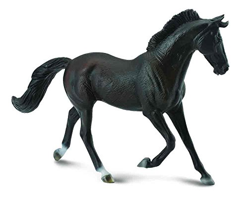 CollectA Thoroughbred Mare, Black