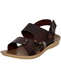 T-Rock Men's Synthetic Sandals & Floaters / Sandals For Men