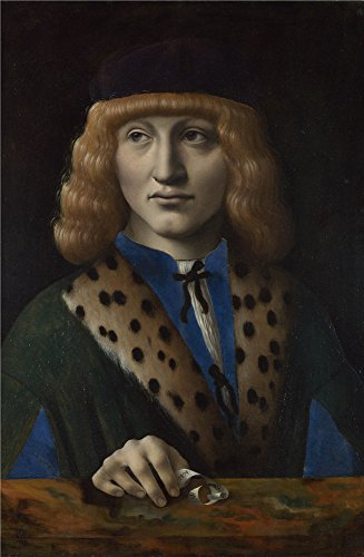 The high quality polyster Canvas of oil painting 'Italian Milanese Francesco di Bartolomeo Archinto ' ,size: 10 x 15 inch / 25 x 39 cm ,this High quality Art Decorative Canvas Prints is fit for Bedroom gallery art and Home decor and Gifts