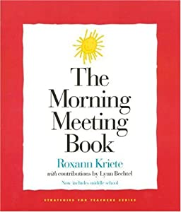 "Cover of ""The Morning Meeting Book (Strat..."