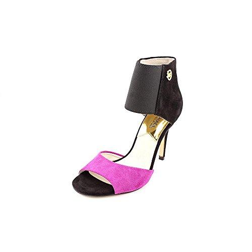 Michael Kors Sivian Womens Size 8 Black Suede Booties Shoes
