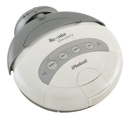 Roomba Irobot Discovery Cordless Robot Vacuum Cleaner 4210 front-430499