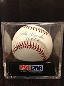 Rare John Wooden Ucla 10 Gem Mint Signed Major League Baseball Bruins - PSA DNA... by Sports+Memorabilia
