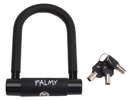 PALMY(パルミー) アルミシャックルロック P-ES-101AL/Φ15mm ブラック