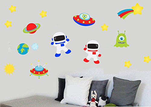 childrens-space-pack-astronauts-planets-stars-and-aliens-pack-of-16-repositionable-wall-art-vinyl-pr