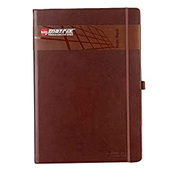 Bilt Matrix-A5 PU Notebook-Red/Black/Brown/White