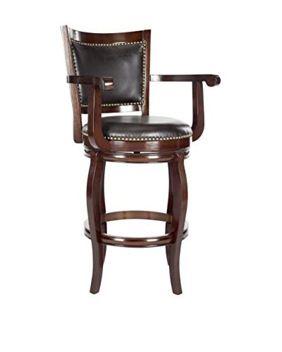 Safavieh Gitano Bar Stool, Sierra Brown/Brown