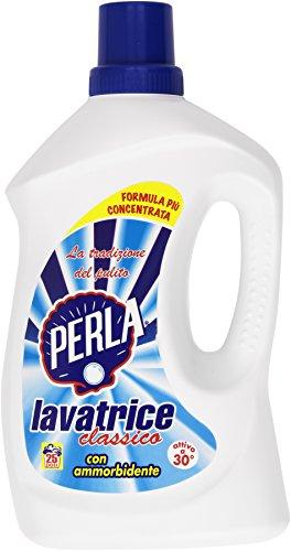 Perla - Detersivo Lavatrice Classico, Con Ammorbidente - 2150 Ml