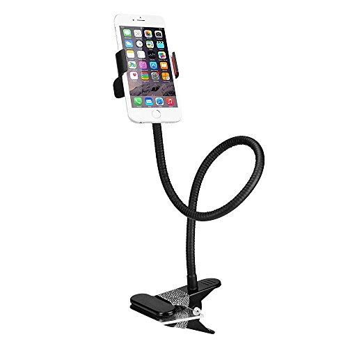 bestek-cell-phone-clip-on-holder-flexible-gooseneck-clamp-long-arms-mount-lazy-bracket-stand-black