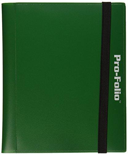 Pro-Folio 4-Pocket Album Green Card Game - 1