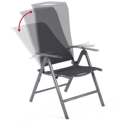 Ultranatura Aluminium Folding Chair, Korfu Series - Plus