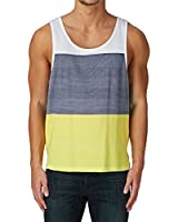 Rip Curl Men Essential Stripes Tank Striped Sleeveless Vest
