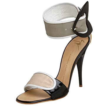 Giuseppe Zanotti Women's E90078 Ankle Wrap Sandal