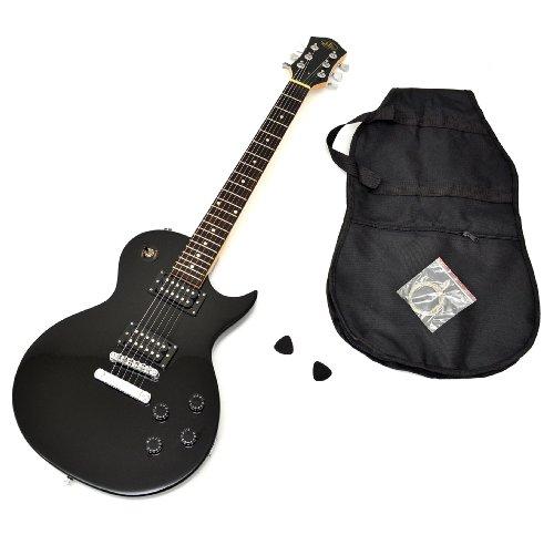 ts ideen 5235 guitare lectrique avec housse cordes de