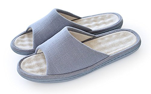 unisex-slip-on-slippers-happy-lily-non-slip-open-toe-sandal-cottonlinen-mules-moisture-wicking-flax-